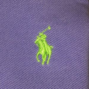 Polo Ralph Lauren Shirt Purple/Green